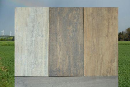 Mehr Freude mit Fliesen für den Außenbereich. In unserem Sortiment finden Sie witterungsbeständige Fliesen in Holz Optik.